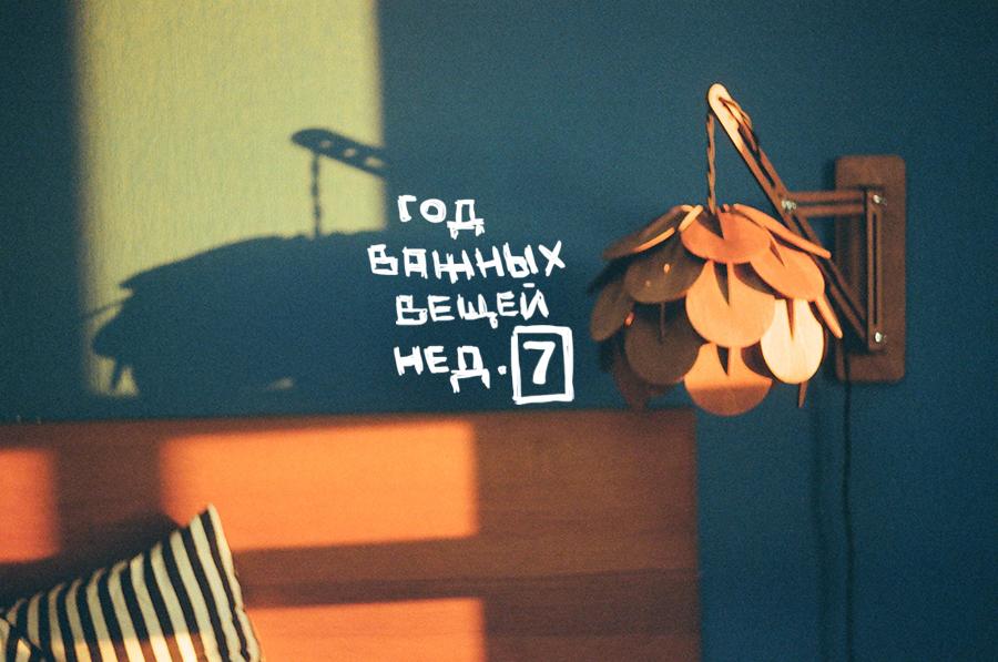ГОД ВАЖНЫХ ВЕЩЕЙ: неделя 7. Блог Любови Алазанкиной.